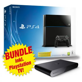 Sony PS4 Bundle inkl. PlayStation TV